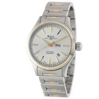 Ball Fireman Two Tone Silver Dial NM2110C-2T-SJ-SL