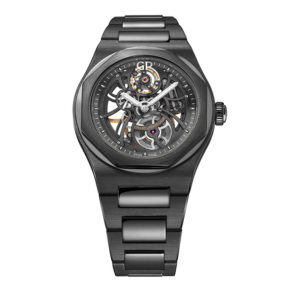 42mm Ceramic Girard-Perregaux Laureato Skeleton