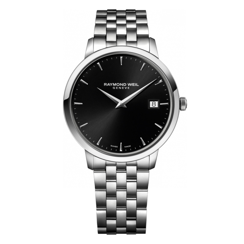 Raymond Weil Maestro Analong Black Automatic 2237-ST-20001