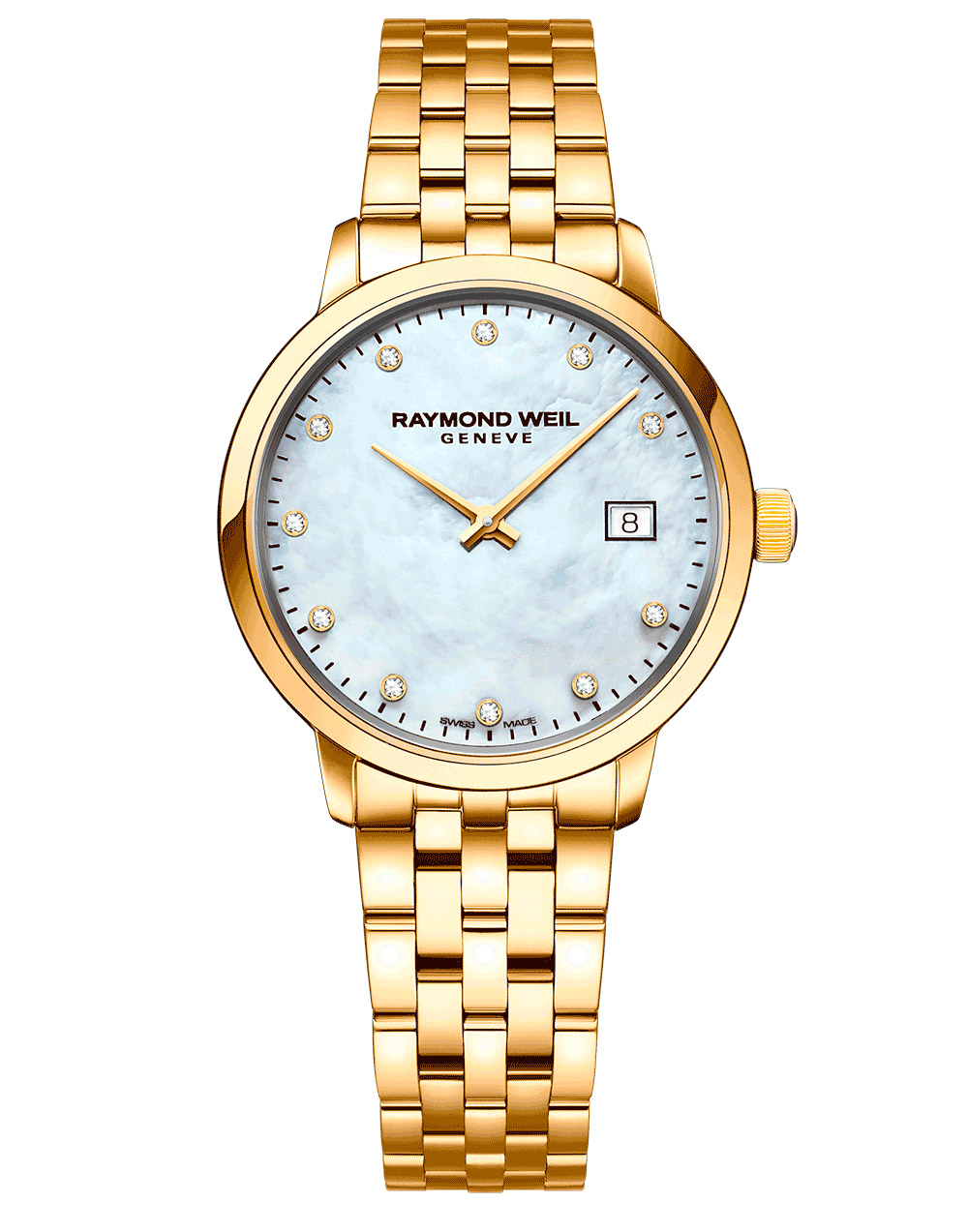 Raymond Weil Yellow Gold PVD Toccata 5985-P-97081