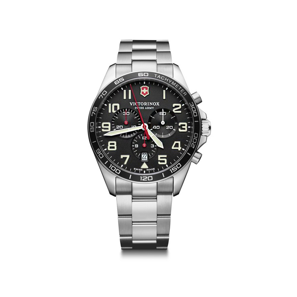 Stainless Steel Victorinox Fieldforce Chronograph 241855