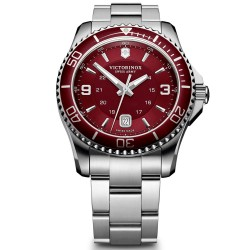 Victorinox Swiss Army Maverick GS Red Dial Stainless Steel 241604