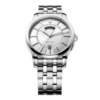 Maurice Lacroix Pontos Day Date Silver Dial  PT6158-SS002-13E