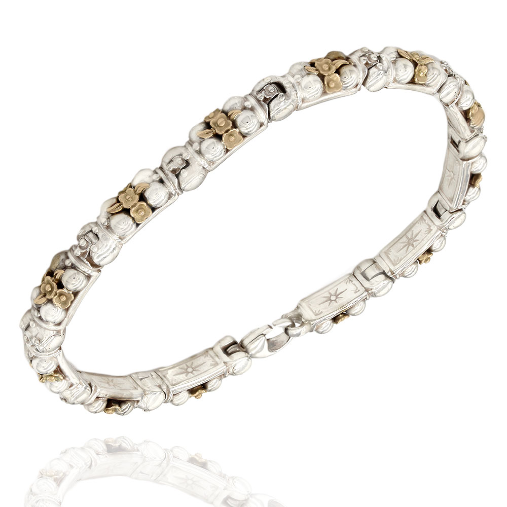 Konstantino Bracelet in Silver and Gold