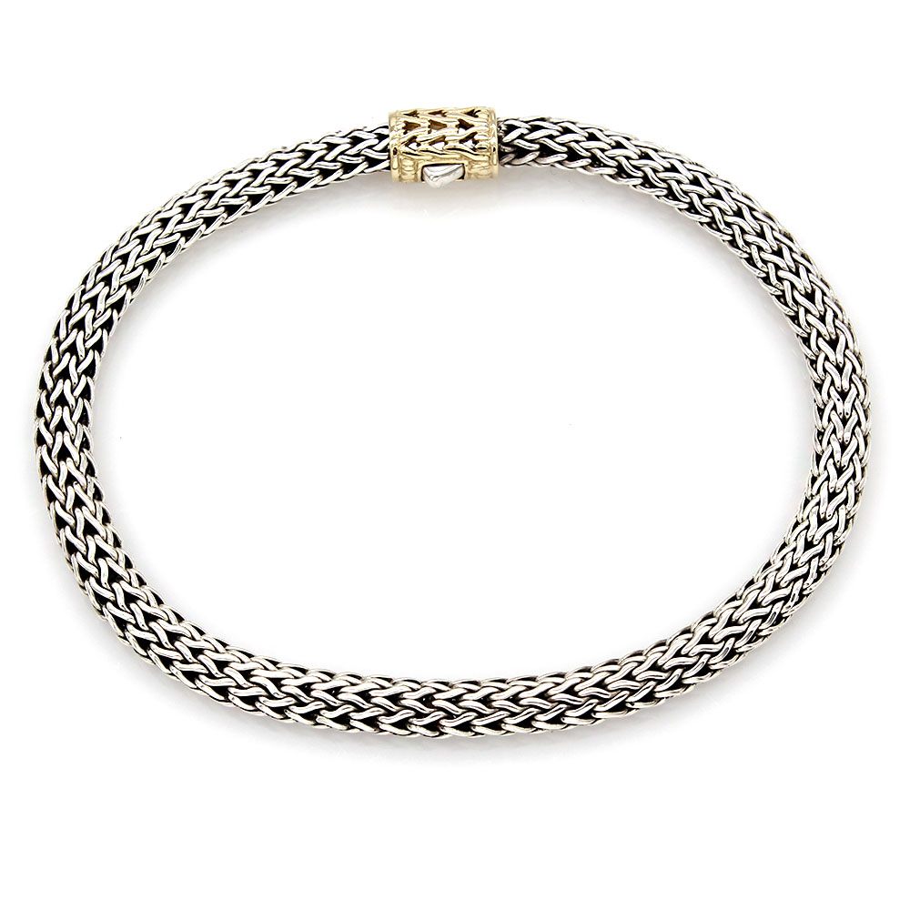Hardy Classic Chain Bracelet in Silver and Gold
