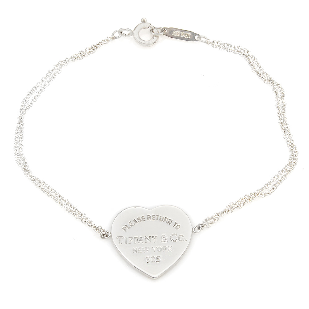 Tiffany & Co. Return To Tiffany Heart Tag Cable Chain Bracelet