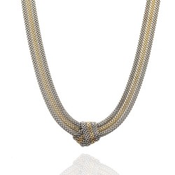 Mesh Necklace in Gold