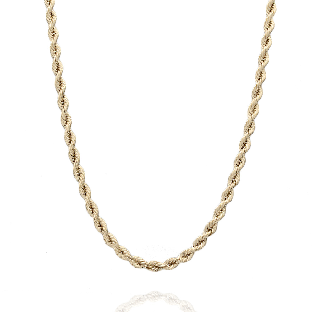 14KY Rope Chain Necklace