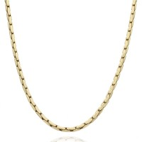 14K Boston Link Chain Necklace