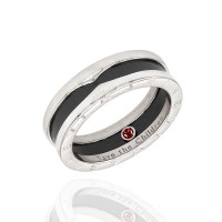 Bvlgari Save the Children Band Ring in Silver