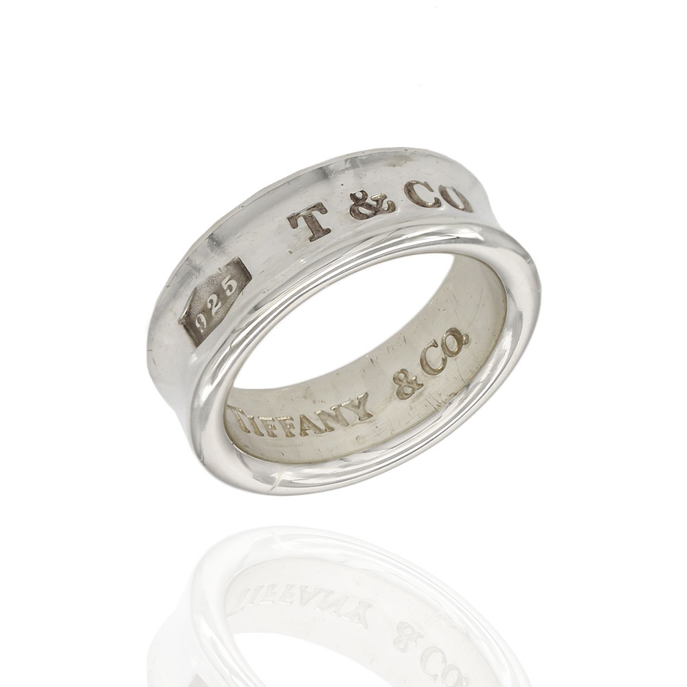 Tiffany & Co. 1837 Silver Band
