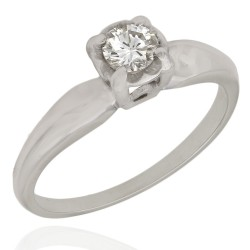 Round Diamond Solitaire Egagement Ring