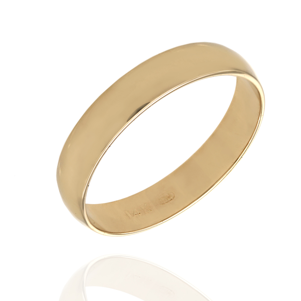 Wedding Band Ring in Gold