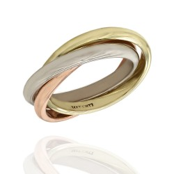Trinity Ring in Gold