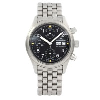IWC Flieger Chronograph Stainless Steel Pilot IW3706
