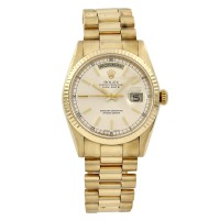 18KY Rolex President Day-Date 118238