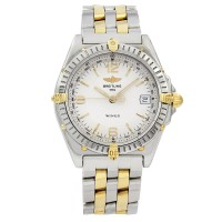 Breitling Wings Stainless Steel & 18K Yellow Gold B10050