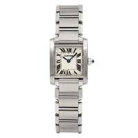 Cartier Tank Francaise Stainless Steel 2384
