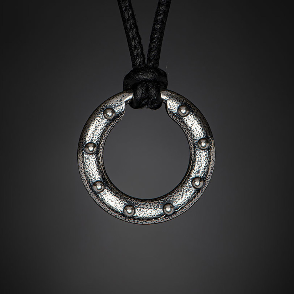 William Henry Sterling Silver Orbit Necklace P50 S