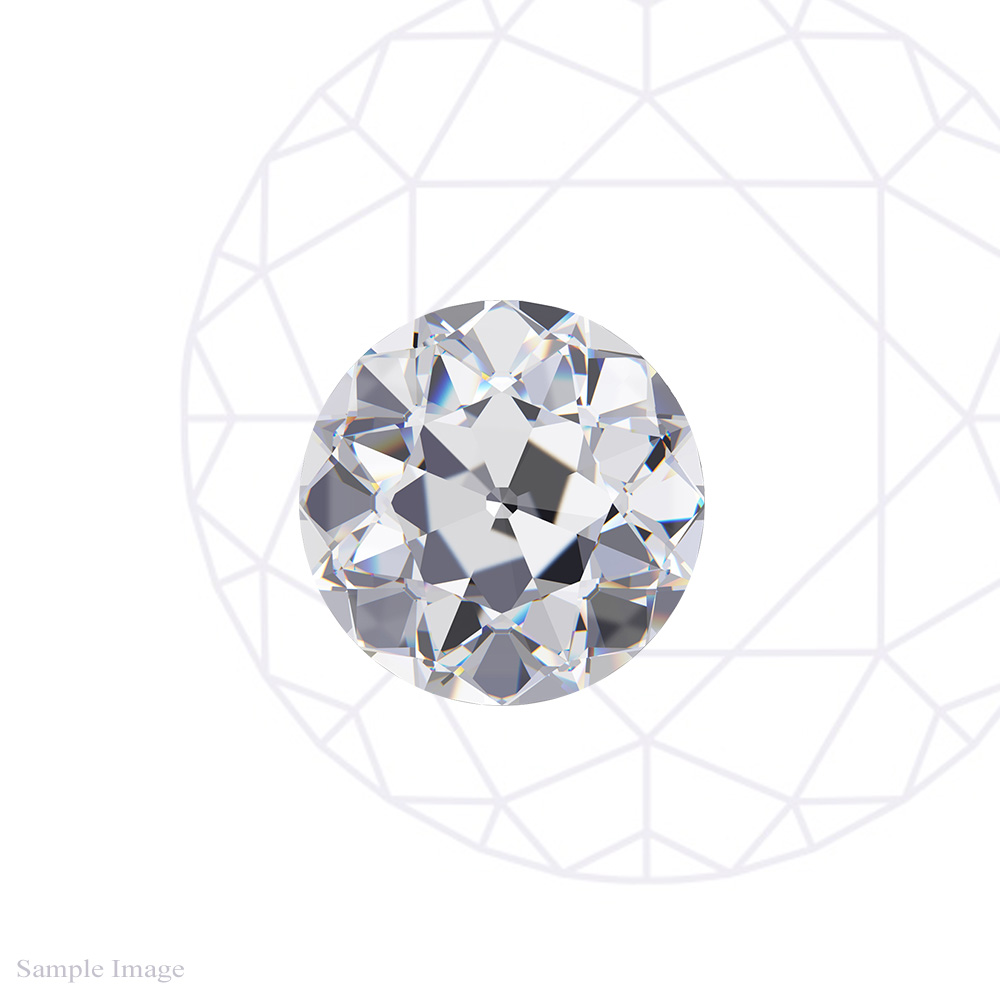 0.77 CT EUROPEAN CUT DIAMOND
