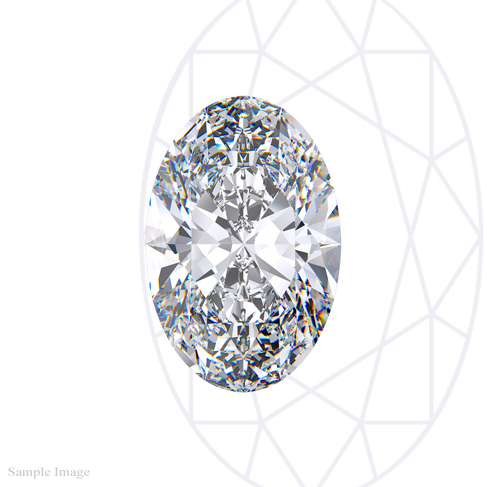0.58CT Oval Cut Diamond