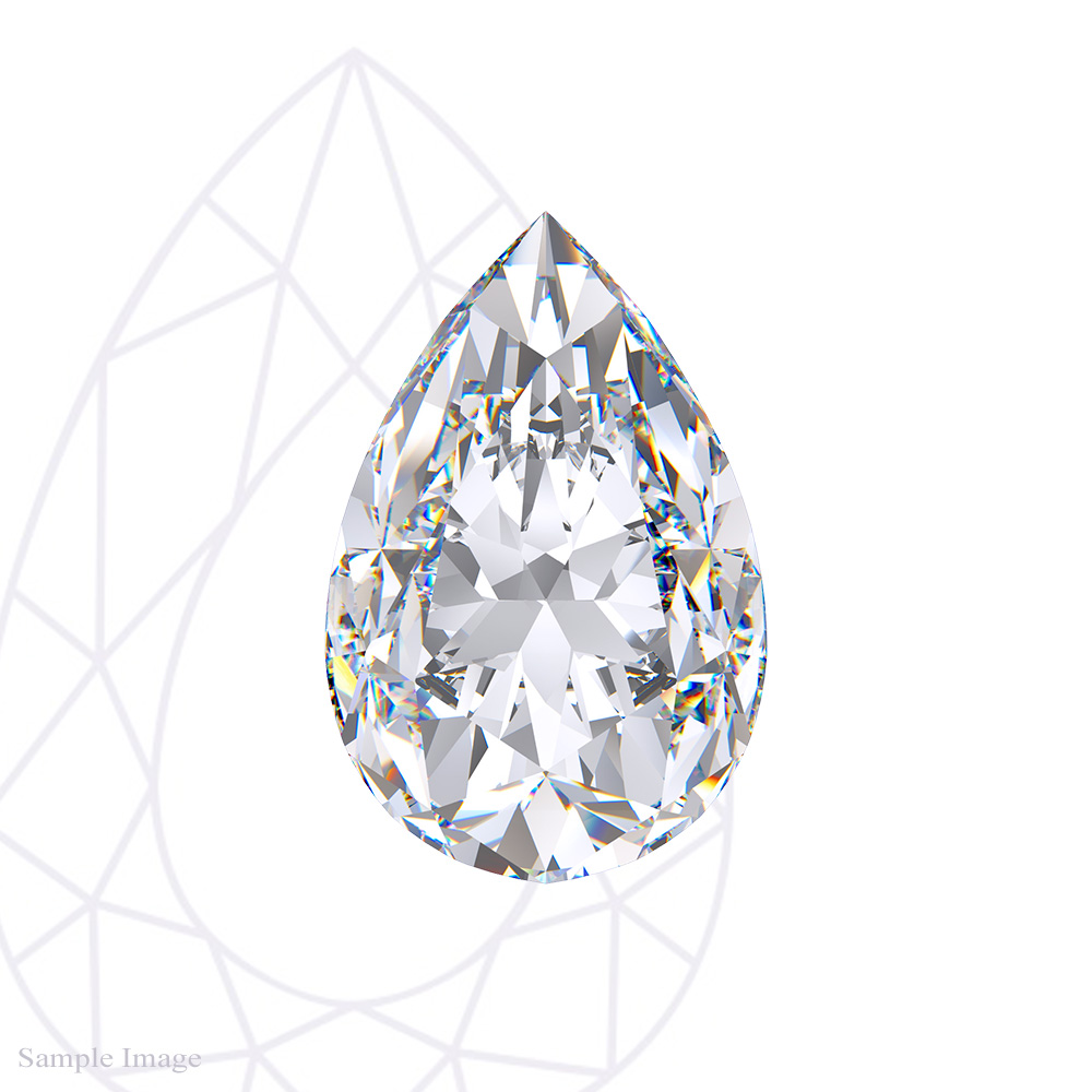 2.21 ct Pear Cut Diamond