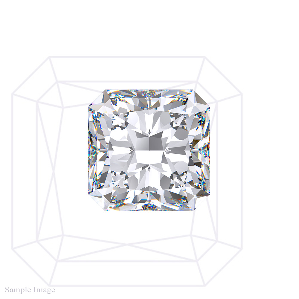 1.57CT Radiant Cut Diamond GIA
