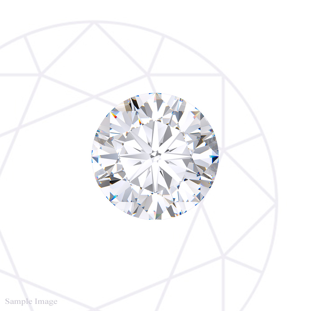 0.74 ct, Round Brilliant Cut Diamond GIA