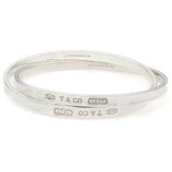 Tiffanny & Co. 1837 Interlocking Bangle Bracelets SS