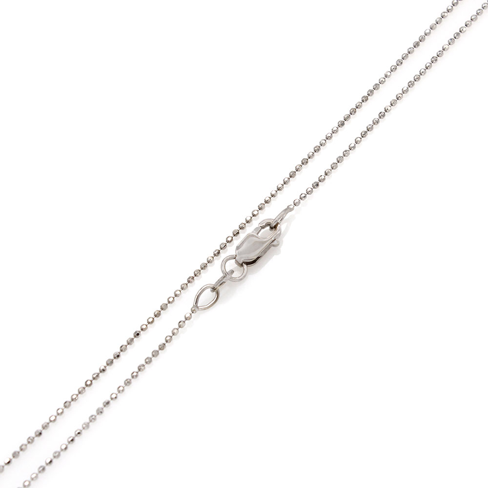 Diamond Initaial B Necklace in Gold
