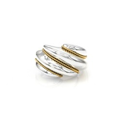 Tiffany & Co. Ring in Silver and Gold
