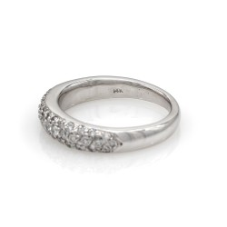 Pave Diamond Ring in Gold