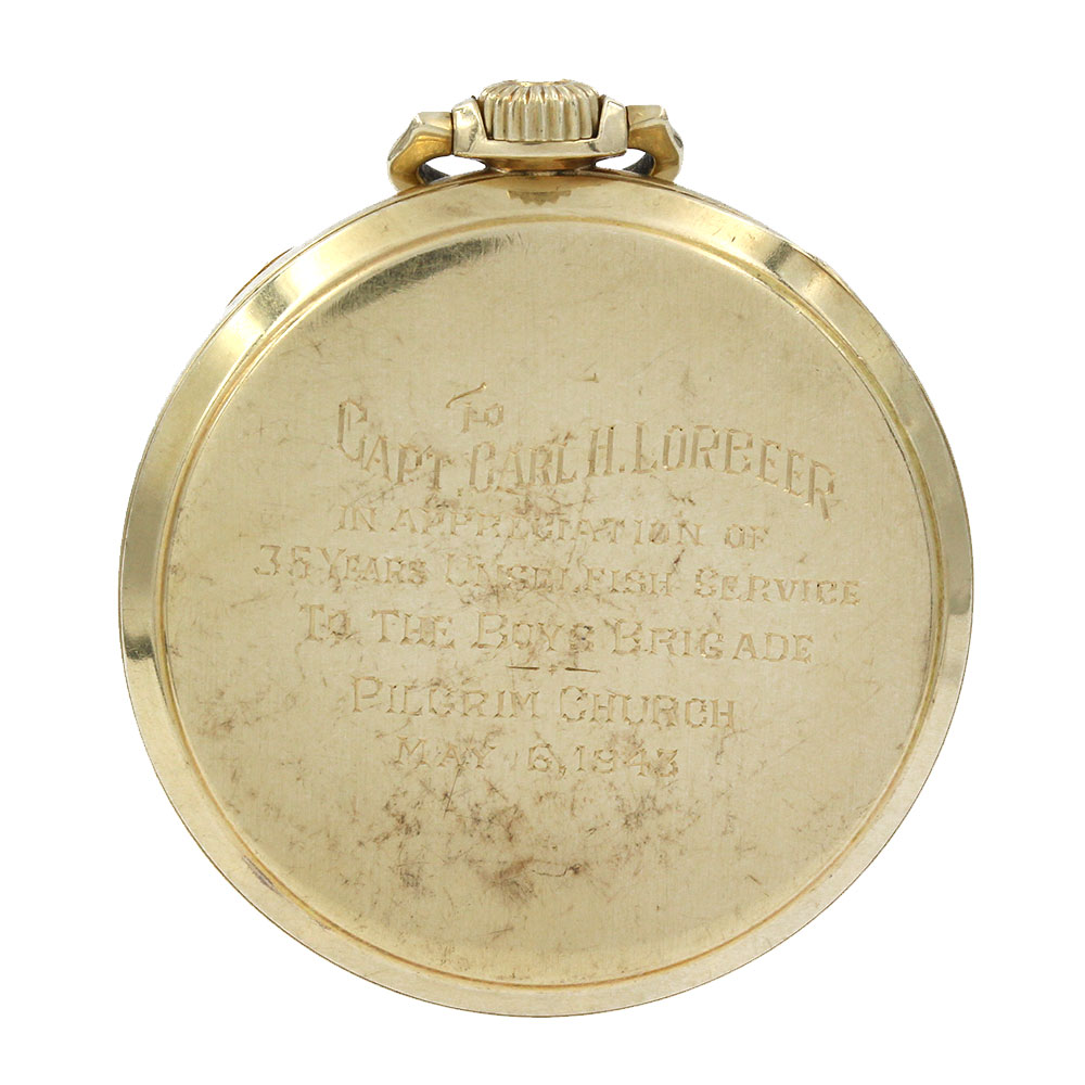 Vintage Longines 14K Yellow Gold Pocket Watch