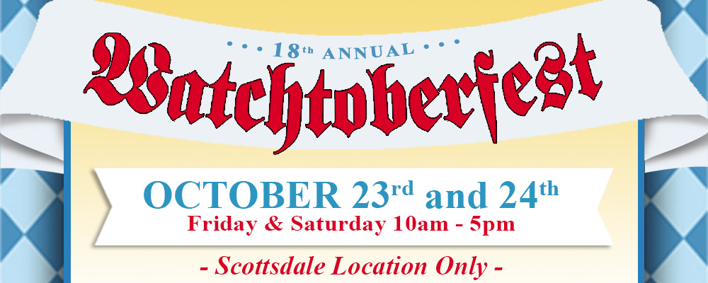 18th Annual Watchtoberfest